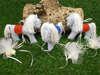 αλογάκι από βαμβακερό ύφασμα για βάπτιση αγοριού