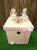 Εικόνα με Κουτί βάπτισης χειροποίητα κουκλάκια