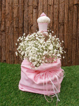 Εικόνα του Διακοσμητικό βάπτισης κοριτσάκι cup cake