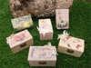 ξύλινα κουτάκια sarah kay και vintage για βάπτιση κοριτσιού