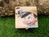 ξύλινο κουτάκι με τον πινόκιο για βάπτιση αγοριού