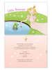 Εικόνα με Προσκλητήριο βάπτισης κοριτσάκι πριγκίπισσα