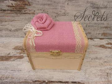 Εικόνα του Κουτί μαρτυρικών ροζ τριαντάφυλλο