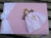 Εικόνα με Βιβλία ευχών βάπτισης πριγκίπισσα ροζ