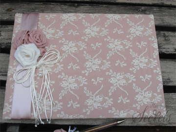 Εικόνα του Βιβλίο ευχών vintage ροζ