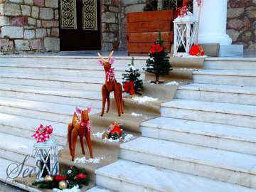 Εικόνα του Στολισμός εκκλησίας με θέμα Χριστουγεννιάτικο
