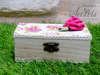 Εικόνα με Μπομπονιέρα βάπτισης ξύλινο κουτάκι