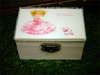 Κουτάκι βάπτισης με ροζ θέμα και όνομα