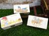 μπομπονιέρα κουτάκι ξύλινο με θέματα vintage για βάπτιση κοριτσιού