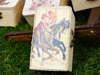 μπομπονιέρα ξύλινο κουτάκι vintage  για βάπτιση