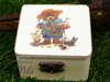 μπομπονιέρα κουτάκι ξύλινο αρκουδάκι για βάπτιση