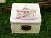 Ξύλινο κουτάκι μπομπονιέρα