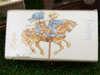 κουτάκι ξύλινο με θέμα vintage για βάπτιση