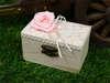 Εικόνα με Μπομπονιέρες βάπτισης κουτάκι vintage