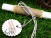 Εικόνα με Προσκλητήρια γάμου λινάτσα & λεβάντα