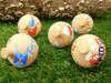Ξύλινες σβούρες για βάπτιση με θέμα το τρενάκι,το αερόστατο,το καράβι και τον χαρταετό