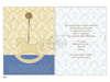 Εικόνα με Προσκλητήρια βάπτισης αλογάκι μπλε