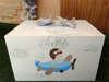 Εικόνα με Κουτί και λαμπάδα βάπτισης με θέμα τα αεροπλάνα