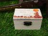 μπομπονιέρα βάπτισης ξύλινο κουτάκι για βάπτιση με θέμα vintage