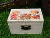 μπομπονιέρα βάπτισης αγοριού ξύλινο κουτάκι vintage