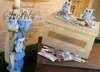 Εικόνα με Κουτί βάπτισης και λαμπάδα με κουκουβάγια