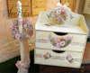 Εικόνα με Πακέτο βάπτισης με vintage συρταριέρα και στεφανάκι