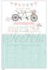 Εικόνα με Προσκλητήριο γάμου vintage ποδήλατο