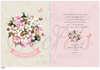 Εικόνα με Προσκλητήριο βάπτισης λουλουδάκια