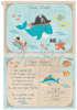 Εικόνα με Προσκλητήριο βάπτισης θαλασσινό φάλαινα