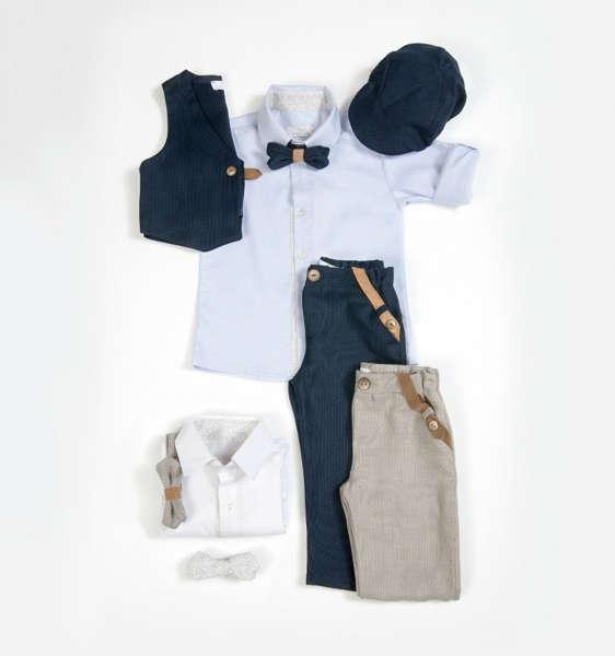 Εικόνα με Βαπτιστικό ρούχο για αγόρι angel wings