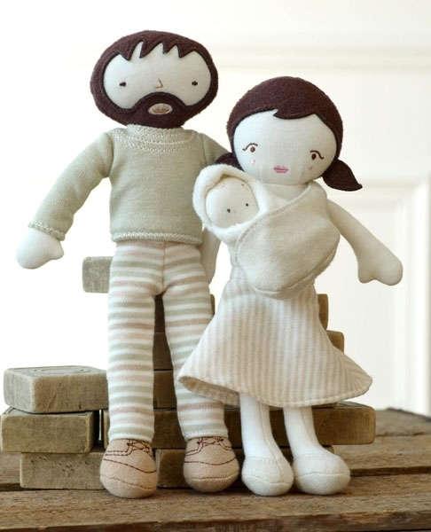 δωράκι για μωράκι χειροποίητη κούκλα