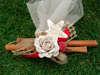 Εικόνα με Μπομπονιέρα Χριστουγεννιάτικη με κανέλες