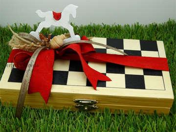 Εικόνα του Ξύλινο παιχνίδι σκάκι