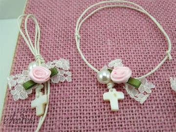 Εικόνα του Μαρτυρικά βάπτισης κοριτσάκι vintage λουλούδια