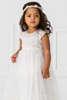 Εικόνα με ASMA βαπτιστικό φόρεμα κορίτσι