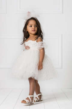 Εικόνα του CAMELIA βαπτιστικό φόρεμα κορίτσι