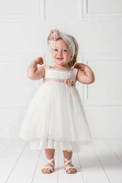 Εικόνα του CELESTINE βαπτιστικό φόρεμα κορίτσι