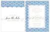 Εικόνα με Προσκλητήριο με μπλε ημικυκλικό μοτίβο