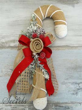 Εικόνα του Χριστουγεννιάτικο διακοσμητικό μπαστούνι