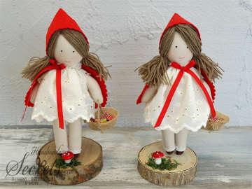 Εικόνα του Χριστουγεννιάτικη διακοσμητική κούκλα