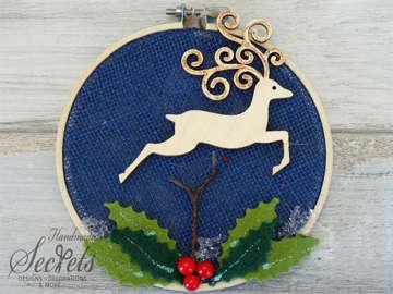 Εικόνα του Χριστουγεννιάτικο διακοσμητικό τελαράκι