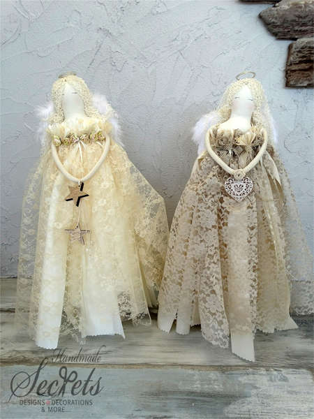 Εικόνα με Χριστουγεννιάτικοι διακοσμητικοί άγγελοι