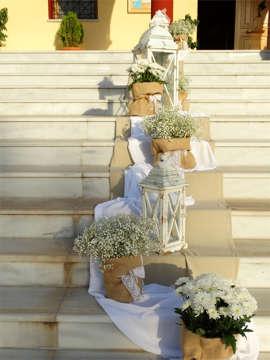 Εικόνα του Στολισμός γάμου vintage