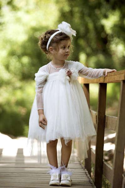 Εικόνα με ANTA βαπτιστικό φόρεμα κορίτσι