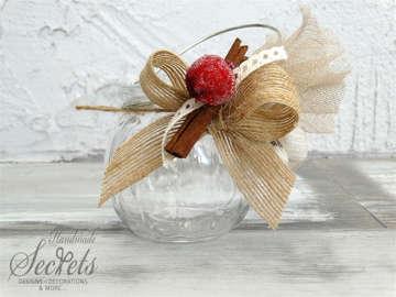 Εικόνα του Μπομπονιέρα Χριστουγεννιάτικη βαζάκι
