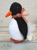 Εικόνα με Μπομπονιέρα πιγκουίνος