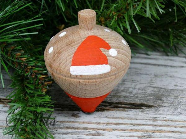 Εικόνα με Χριστουγεννιάτικη μπομπονιέρα σβούρα