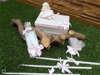 Εικόνα με Λαδοσέτ βάπτισης με θέμα κούκλα