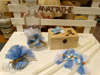 Εικόνα με Λαδοσέτ βάπτισης με μπλε άσπρο ανεμόμυλο