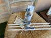 Εικόνα με Λαδοσέτ βάπτισης με ξύλινο μονόγραμμα